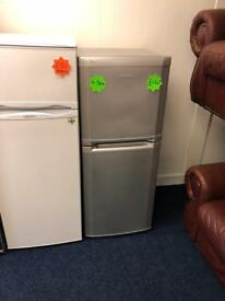 *** Silver Beko 4.5ft Fridge Freezer***Free Local Delivery***