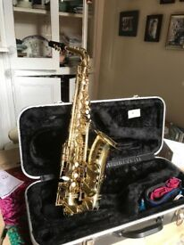 Used Artemis Alto Saxophone with case. Not played for 10 years but in good condition