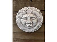 Garden Sun Decorative Wall Plaque
