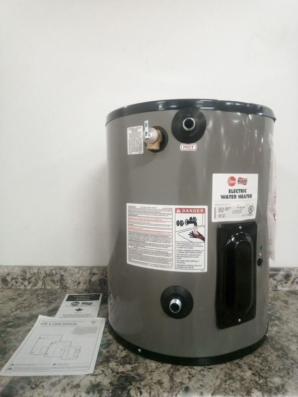 Rheem-Ruud EGSP20 277V 19.9 Gal Cap 277V 6000W 150 Max PSI Electric Water Heater
