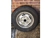 FORD TRANSIT WHEEL AND BRAND NEW TYRE 215 75 R16C