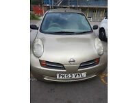 2003 NISSAN MICRA S GOLD