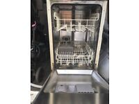 Slimline integrated dishwasher. Free local delivery