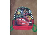 Rapunzel Backpack And Disney Cars Backpack