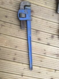 Record 24 Pipe Wrench