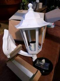 Outside porch/Wall light. Brand New in Box