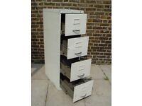 FREE DELIVERY Vintage Milners Metal Filing Cabinet Retro Storage Furniture