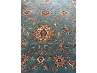 Brand New turquoise Persian Rug