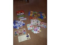 Pre school learning game selection