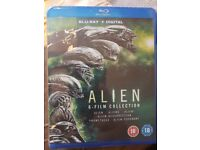 Alien 6 Film Complete collection Blue Ray Box Set