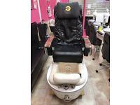Pedicure spa & massage chair.