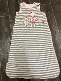 Baby/toddler 2.5tog sleeping bag 6-18m