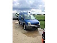 FORD TRANSIT CONNECT LWB HI ROOF TWIN SIDE LOADING DOORS