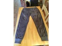 Drop Dead x sonic joggers grey, trousers