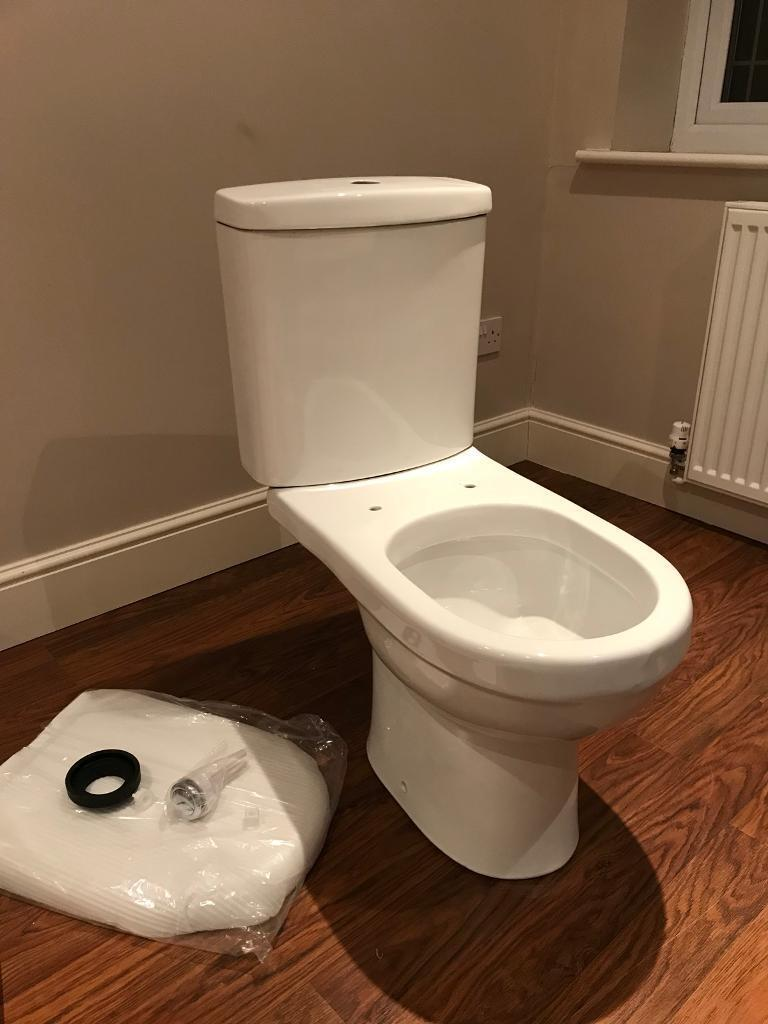 Cali Ivo Closed Couple Toilet (Brand New)