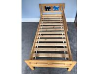 Ikea 'Kritter' child's bed frame and slatted base
