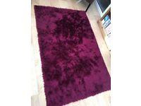 Plum rug carpet