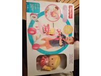 Fisherprice princess mommy pushchair and doll set