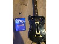 Guitar hero + Game Guitar and Dongle