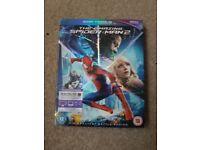 The amazing Spider-Man 2 blu-ray. In good working condition.