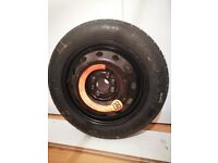 Spare wheel for Fiat Punto