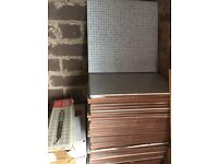 320 mm sq floor of wall tiles