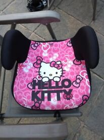 Childs Hello Kitty Booster Seat