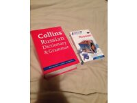 Russian assimil + Collins Russian dictionary