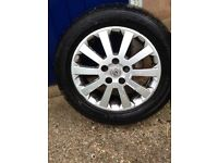16 inch alloy for Vauxhall Astra including tyre