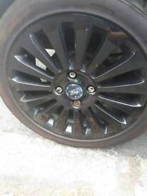 Ford alloy wheels