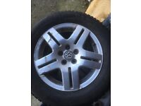 2003 Golf Alloys and winter tyres