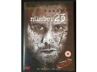 The Number 23 UNCUT EDITION - DVD - COMPLETE starring Jim Carrey