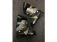 Salomon Ellipse 8.0 Men's ski boots- size 26.5 + Snow blades