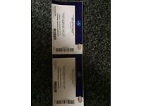 Bring me the horizon two tickets for o2 London