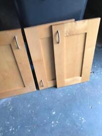 Solid Maple Kitchen Unit Doors