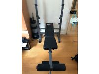 Bodymax CF342 Compact Folding Bench (Used)