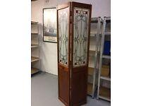 Pattern design folding cupboard door
