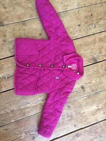 Joules jacket size 12/18months