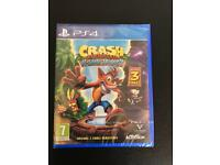 Crash bandicoot nsane trilogy PS4 sealed