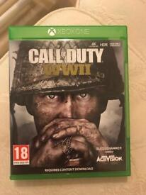 Xbox one game WW2