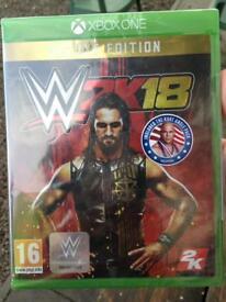 WWE 2K18 *BRAND NEW* STILL IN PACKAGING