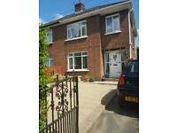 3 bedroom Semi detached house. Fortwilliam area. North belfast