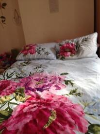 Divan double bed and mattress