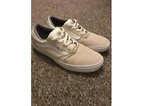 Vans Cream/White mens trainers size 9