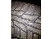Snow tyres 245/40/18