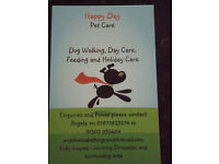 Petsitter and Dogwalker in Fishlake Doncaster. Fully insured to care for your pet complete service.
