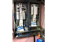 a team of professional electricians