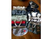 Baby bundle of boys clothes