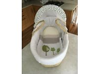 Beautiful baby's Moses Basket (unused)