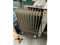 Crown electric oil filled radiator